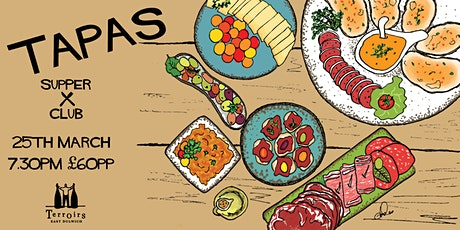 TAPAS Supper Club tickets