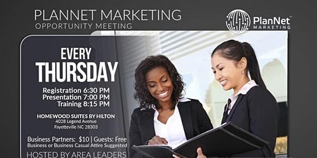 Become A Travel Business Owner-Fayetteville, NC Thursdays (Carlisa Jones, Baltimore, MD) tickets