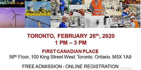 Toronto Blue Collar Job Fair - February 26th, 2020 tickets