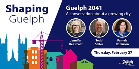 Guelph 2041: A conversation about a growing city tickets