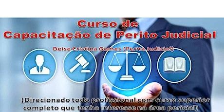 Curso de Capacitação de Perito Judicial ingressos