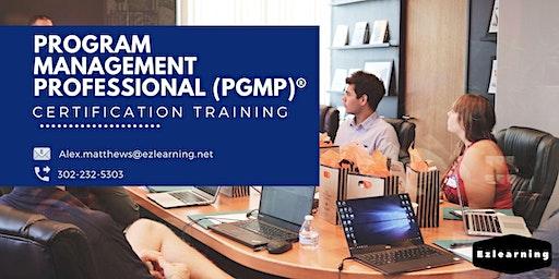 PgMP Certification Training in Fort Saint John, BC