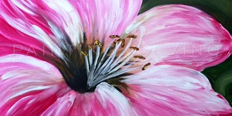 Best Paint and Sip in Bellflower 'Pink Hibiscus' ! tickets