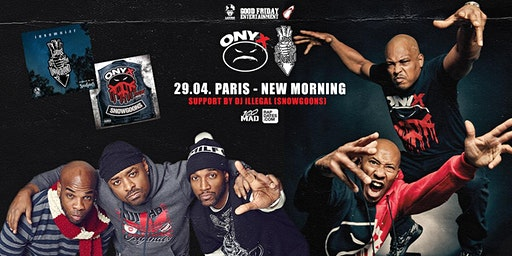 Lords Of The Underground & Onyx Live in Paris