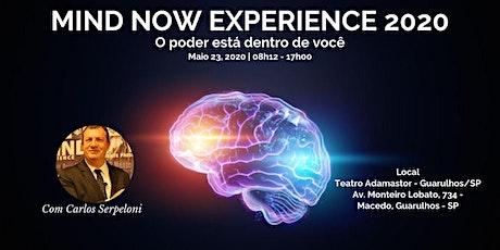 MIND NOW EXPERIENCE 2020 - O PODER ESTÁ DENTRO DE VOCÊ ingressos