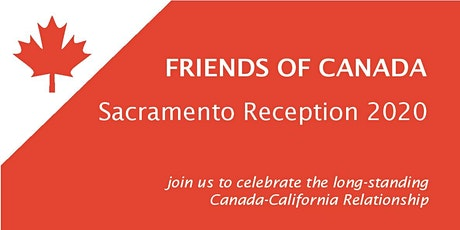 Friends of Canada Sacramento Reception 2020 tickets
