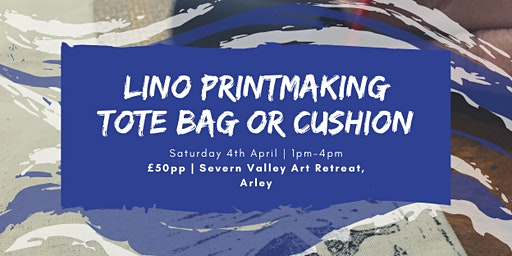 Lino Printmaking - Tote Bag or Cushion - Craft Workshop