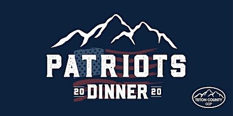 Patriots Dinner tickets