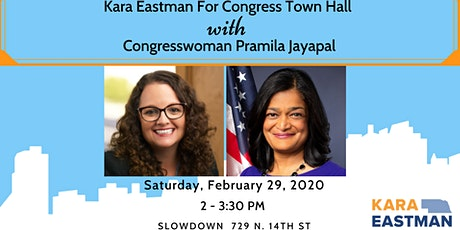 Eastman For Congress Town Hall with Rep. Pramila Jayapal! tickets