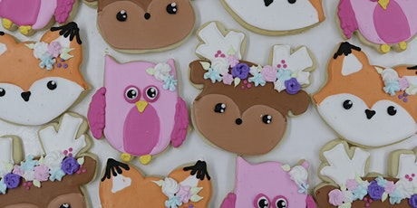 Woodland Animal Cookie Decorating Class tickets