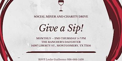 Give a Sip! Social Mixer and Charity Drive