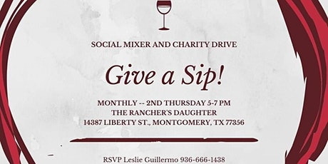 Give a Sip! Social Mixer and Charity Drive tickets