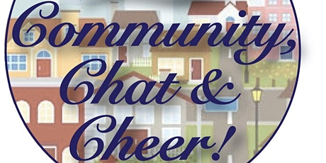 Community, Chat & Cheer! - February tickets