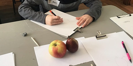 Kid's Beginning Drawing Class Ages 8-13 tickets