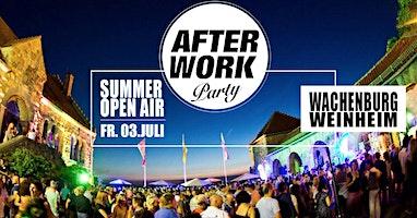 After Work Party @ Wachenburg Weinheim