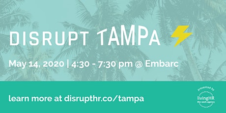 DisruptHR Tampa 2020 tickets