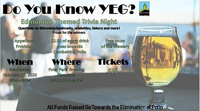 Do You Know YEG? Trivia Night tickets