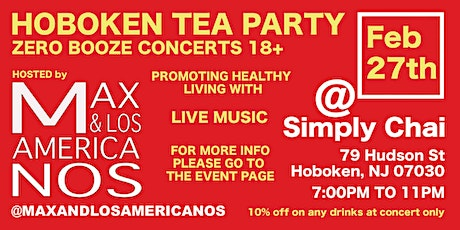 Hoboken Tea Party  (Cero booz concerts) tickets