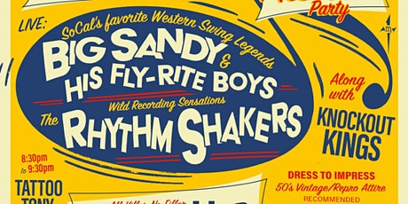 Rhythm 'N Booze: Big Sandy & His Fly-Rite Boys, The Rhythm Shakers tickets