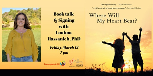 Book Talk & Signing with Loubna Hassanieh, PhD