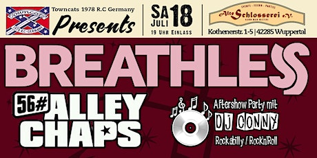 Towncats 1978 RC Präsentiert: Breathless Tickets