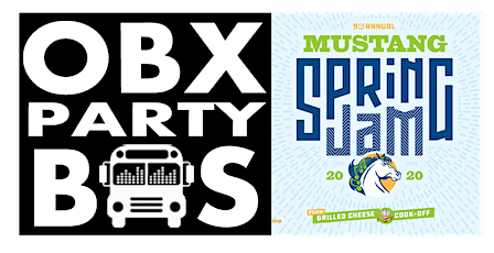 SUN: OBX Party Bus Ride to Mustang Spring Jam 2020 tickets