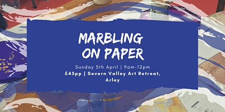 Marbling on Paper - Craft Workshop tickets