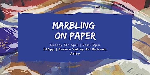 Marbling on Paper - Craft Workshop
