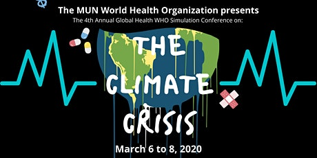 MUN World Health Organization 2020 Simulation Conference tickets