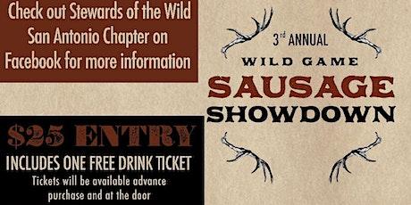 Stewards of the Wild Presents Sausage Showdown 2020 tickets