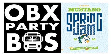 SAT: OBX Party Bus Ride to Mustang Spring Jam 2020 tickets