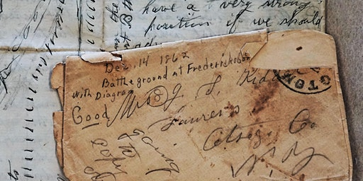 Food for Thought - Civil War Letters & Objects in the Research Library