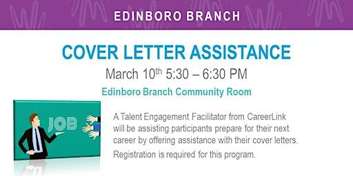 Cover Letter Assistance (EDB)