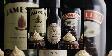 Boozy Cupcake Class ~ Carbomb Cupcakes tickets