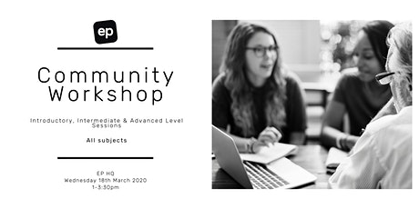 EP Community Workshop - Dunedin tickets