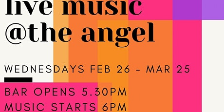 Live music at the angel tickets