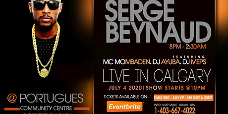 SERGE BEYNAUD LIVE IN CALGARY tickets