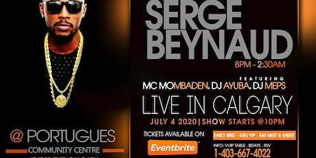SERGE BEYNAUD LIVE IN CALGARY tickets