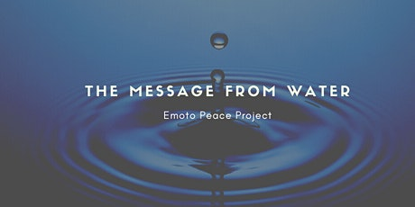 The Message from Water tickets
