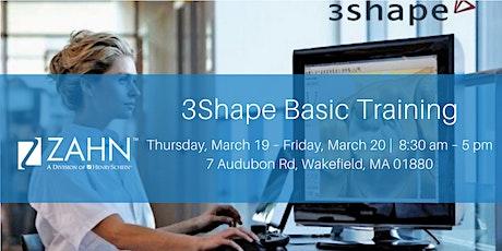 3Shape Basic Training tickets