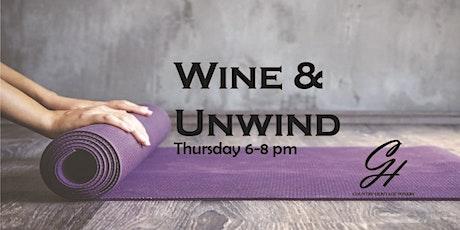 Wine & Unwind Yoga tickets