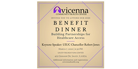 Avicenna Community Health Center Benefit Dinner (2020) tickets