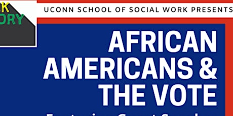 African Americans & The Vote tickets
