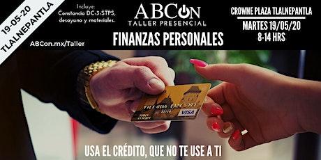Taller: Finanzas personales entradas