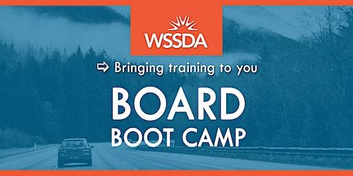 Board Boot Camp 2020