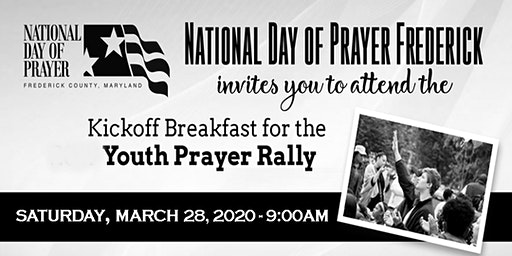 Kickoff Breakfast for the 7th Annual Youth Prayer Rally