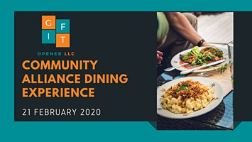 VIP Launch of the Community Alliance Dining Experience