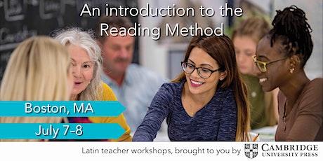 Latin Teaching Workshop: Novice | Boston, MA tickets