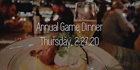 Annual Wild Game Dinner tickets