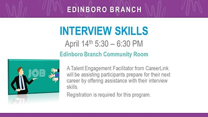 Interview Skills (EDB) tickets